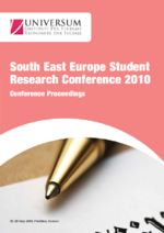 South East Europe Student Research Conference 2010