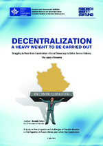 Decentralization - a heavy weight to be carried out