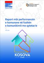 Raport mbi performancën e komunave në fushën e komunikimit me qytetar/e