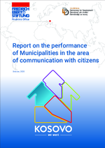 Report on the performance of municipalities in the area of communication with citizens